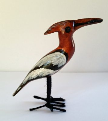 Hand Carved Bird 2