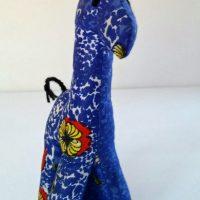 Blue the stuffed Giraffe
