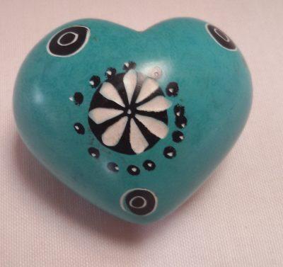 2 inch made in KenyaSoapstone Heart