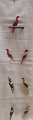 Hand made Bird Mobile