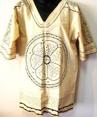 Hand painted shirt from Peru