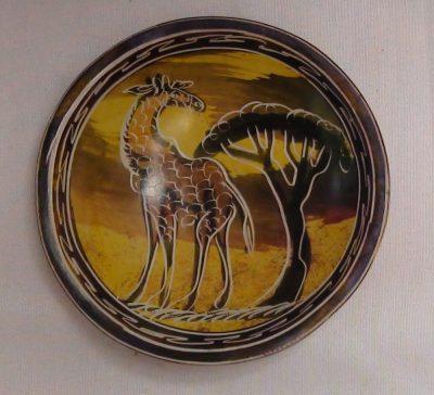 Soapstone Giraffe Finger Bowl
