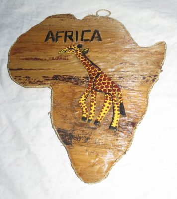 Banana Fiber Map of Africa