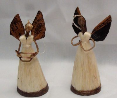 Standing Fiber Angels