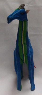 Recycled Flip Flop giraffe