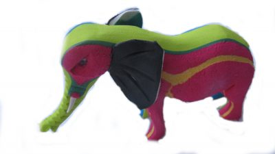 Recycled FLip Flop Elephant