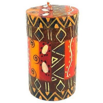 Handmade and Painted Candles