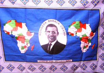 Blue President Obama Kanga