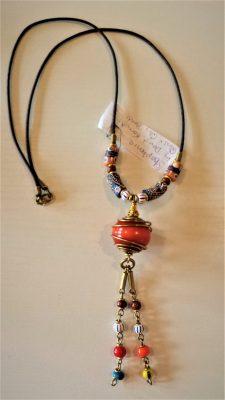 Clay Trade Bead Necklace