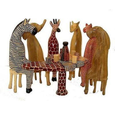 Wooden Party animal Set