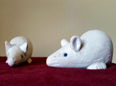 Soapstone Mouse