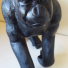 Hand Carved Wooden Gorilla