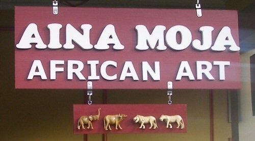 Aina Moja sign